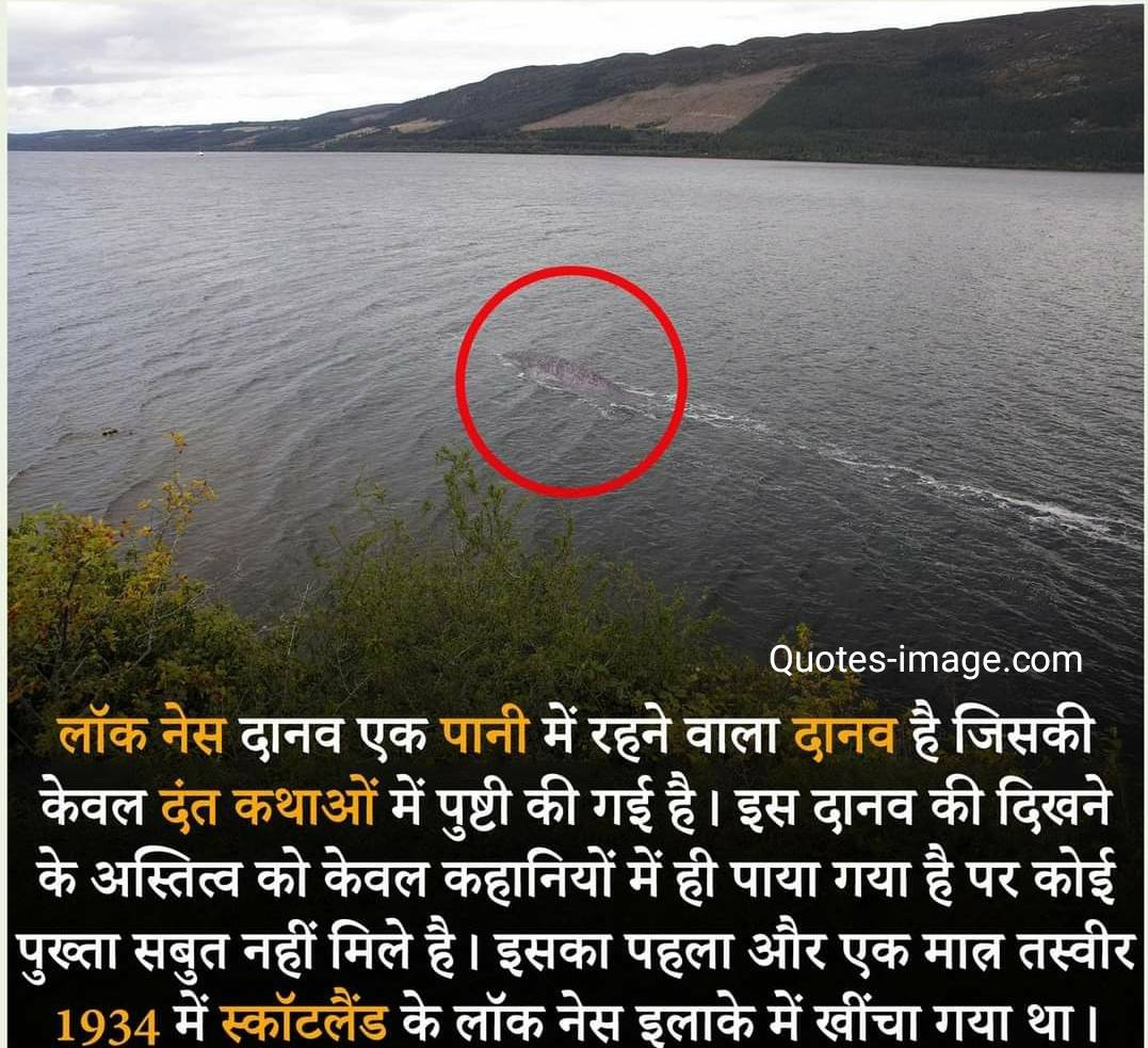 Facts About Monster | Loch Ness Monster | Facts About World