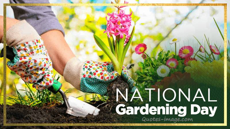 National Gardening Day 14th April | Special Day 14th April