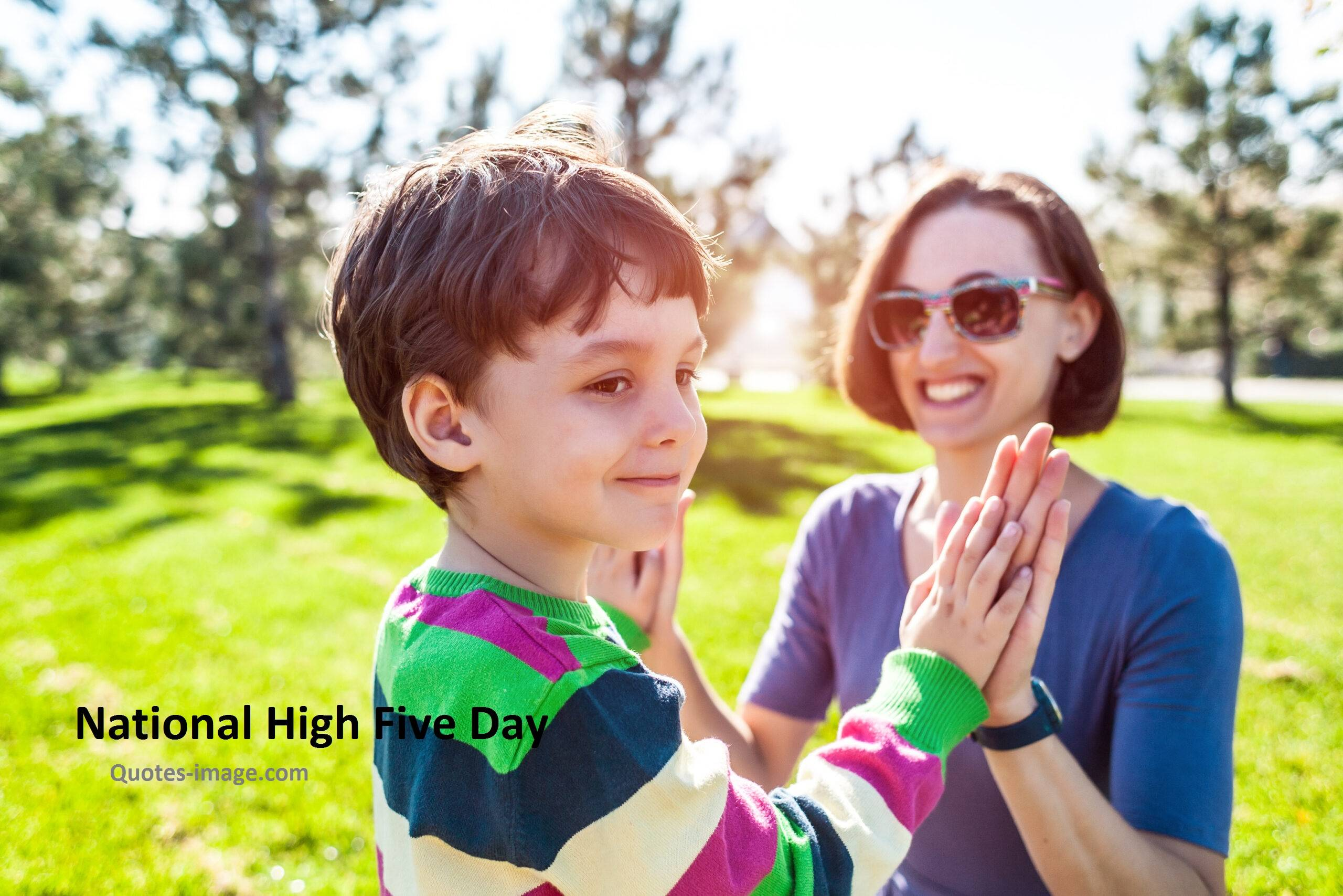 National High Five Day | Third Thursday in April