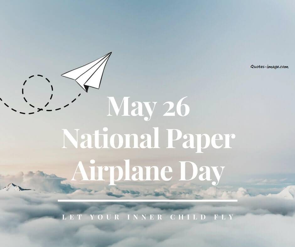 National Paper Airplane Day | Special Day Wishes